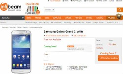 Samsung Galaxy Grand 2 Gets Listed Online As Coming Soon in India