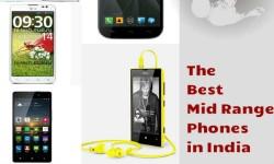 The Best 5 Mid Range Smartphones in India for December 2013