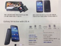 Samsung Galaxy S4 Active Snapped with Snapdragon 800 Processor [Report]