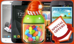 Christmas 2013 Offers: Top 20 Mid Range Android Jelly Bean, 3G, Dual SIM Smartphones Buy In India