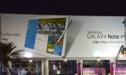 Samsung Galaxy Note Pro and Tab Pro Update: First Images Leak Via CES Billboards
