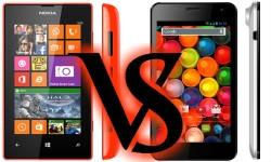 Nokia Lumia 525 Vs Karbonn Titanium S4: Upper-hand Up for Grabs