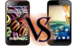 Micromax Canvas Turbo Mini A200 Vs Intex Aqua Curve: Battle of Market Newbies