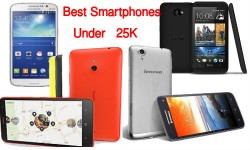 5 Best Smartphones Worth Buying Under Rs 25,000