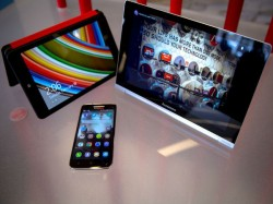 MWC 2014: Lenovo Unveils Yoga Tablet 10 HD+ Along With S660, S850 And S860 Budget Android 4.2 Phones