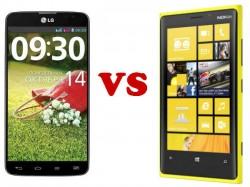Nokia Lumia 1520 Vs LG G Pro 2: Big Screens, Big Determinations, One Winner