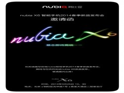ZTE Nubia X6: 6-Inch 2K Display Smartphone Tipped To Launch on March 25
