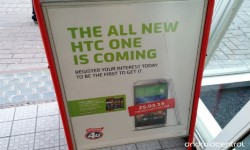 The All New HTC One Advertised Via High Street Retailer