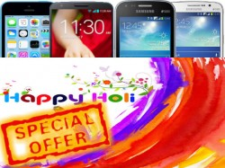 Best Holi Offers on New Smartphones: Includes Samsung, Nokia, Sony, LG, Micromax, Karbonn, Xolo More
