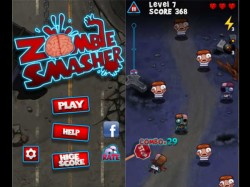 Zombie Smasher Now Official for Windows Phone