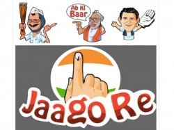 Political Stickers Featuring Narendra Modi, Rahul Gandhi Released For Hike Messenger