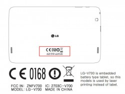 LG V700 and V400 Budget-Friendly Tablets Spotted Online