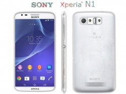 Sony Xperia N1 Concept Phone Shows Up: Combination Of LG and Samsung's Features