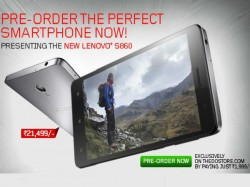 Lenovo Unveiled S860 phablet with 4000mAh Battery, 8MP Camrea: Top 10 Alternative Android Smartphone
