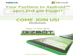 Nokia XL to be Showcased in India on May 1 [UPDATED]