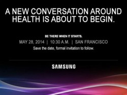 Samsung To Hold 'Health Related' Event on May 28