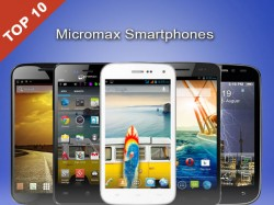 Top 10 Latest Micromax Smartphones to Buy in May 2014