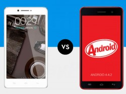 Micromax Unite 2 A106 Vs Canvas Doodle 3: Choosing the 'Better Buy' Off the Same Camp
