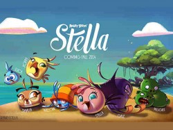 Angry Birds Stella from Rovio Arriving This Fall