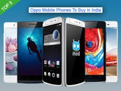 Top 5 Oppo Mobile Phones To Buy in India