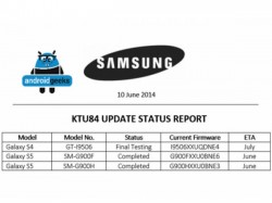 Samsung Galaxy S4, Galaxy S5 Will Soon Receive Android 4.4.3 KitKat Update