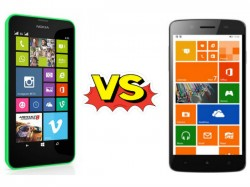Micromax Win W121 Vs Nokia Lumia 630: The Windows Phone Domain Up for Grabs
