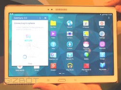 Samsung Galaxy Tab S 10.5 Hands on And First Look: Bigger, Lighter and Thinner Than iPad Air
