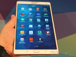 Samsung Galaxy Tab S 8.4 Hands-On And First Look: The Ultra-Thin Tablet That's Ultra Strong