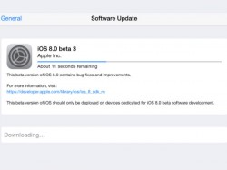 Apple Officially Releases iOS 8 beta 3 For Developers