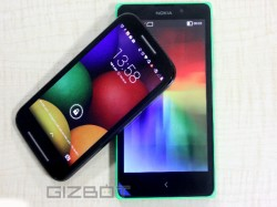Motorola Moto E Vs Nokia XL Comparison Review: Let's Dig Deeper