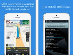 MapmyIndia Offline Navigation App Now Available For iOS Devices
