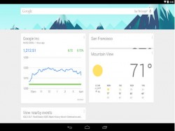Google Now Launcher Now Available for Devices Running Android 4.1 and Higher
