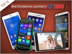 15 Best Smartphones Launched in IFA 2014: Includes Samsung Galaxy Note 4, Xperia Z3 and More