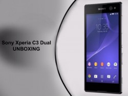 Watch Sony Xperia C3 Dual Unboxing [VIDEO]