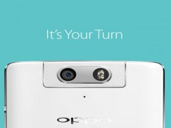 Oppo N3 Teased to Sport A Rotating Selfie Camera and Aluminium Chasis