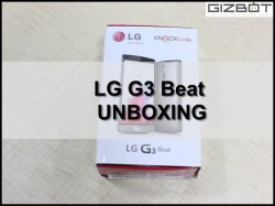 Watch LG G3 Beat Unboxing [VIDEO]