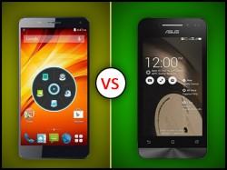 Panasonic T9 Vs Asus Zenfone 4: Fight of the Budget Smartphones