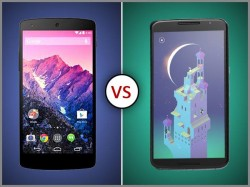Google Nexus 6 Vs Nexus 5: Old is Gold or New is the Beast?