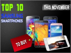 Top 10 Best Samsung Galaxy Smartphones to Buy In India This November