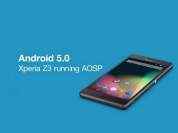 Sony Announces Android 5.0 Lollipop Beta Test On Xperia Z Line Up