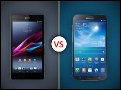 Samsung Galaxy Mega 2 Vs Sony Xperia Z Ultra: When Giants Battle it Out