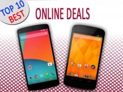 Android 5.0 Lollipop Now Available for Google Nexus 5, Nexus 4: Top 10 Best Online Deals To Buy