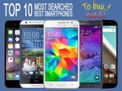 Top 10 Most Searched Best Smartphones To Buy Month End