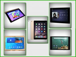 Top 5 Premium Tablets Sporting Highest Resolution Displays