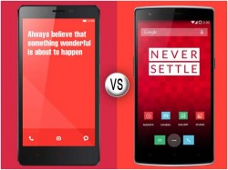Xiaomi Redmi Note Vs OnePlus One: Which Smartphone Should You Buy