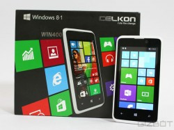 Celkon Win 400 First Look: Looking for a Budget Windows Phone Handset? This Might be the One