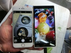 Microsoft Lumia 1030 Leaks out in New Images: Compared With Apple's iPhone 6