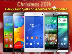 Heavy Discounts on Android Smartphones: 10 Best Christmas 2014 Holiday Shopping Deals