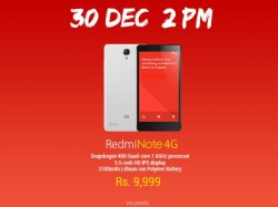 Xiaomi Redmi Note 4G to Go on Flash Sale On December 30
