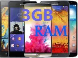 Top 8 Best Smartphones with 3GB RAM Launched in 2014